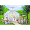 Photo of Sylvanian Families - Wedding Chapel With Bride & Groom Toy