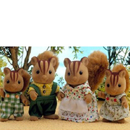 Sylvanian Families - Squirrel Family Reviews