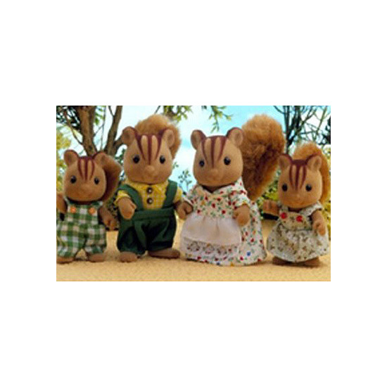 Sylvanian Families - Squirrel Family