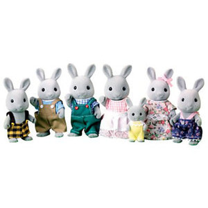 Photo of Sylvanian Families - Deluxe Babblebrook Rabbit Family Toy