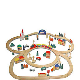 Electronic Wooden Train Set Reviews