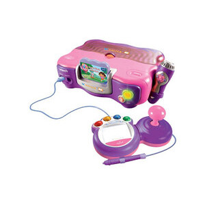 Photo of V.Smile TV Learning System Pink With Back Pack & Adaptor (Including Dora The Explorer Game) Toy