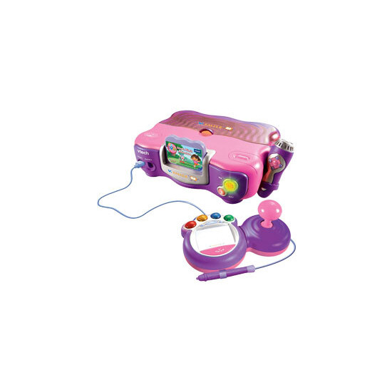 V.Smile TV Learning System Pink with Back Pack & Adaptor (including Dora the Explorer game)