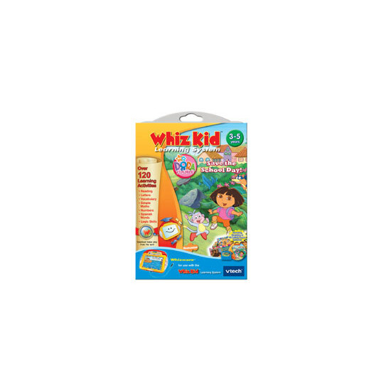 Whiz Kid Whizware - Dora the Explorer: Save the School Day