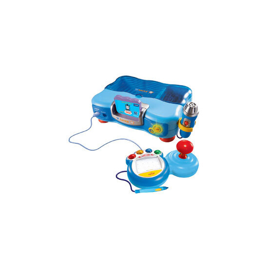 V.Smile TV Learning System Blue with Back Pack & Adaptor (including Thomas & Friends game)