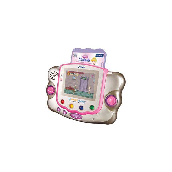 V.Smile Pocket Pink (including Cinderella Software)