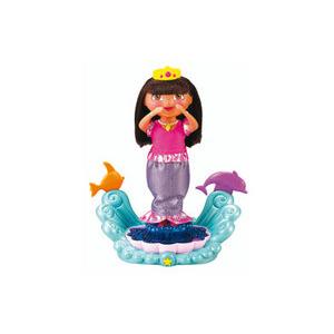 Photo of Dora The Explorer Sparkle & Twirl Mermaid Dora Toy