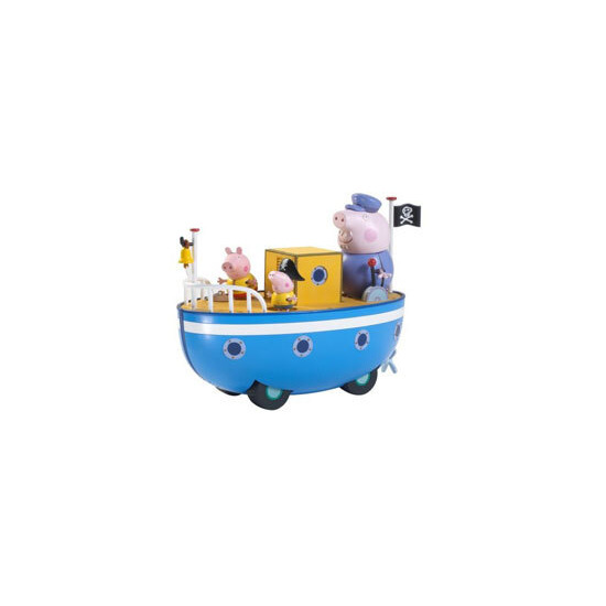 Peppa Pig On Grandpa Pig's Boat