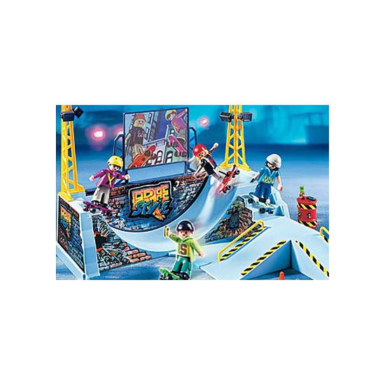 Playmobil - Skate Park with Halfpipe 4414