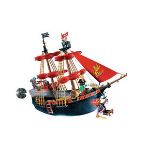 Photo of Playmobil - Blackbeards Pirate Ship 5736 Toy