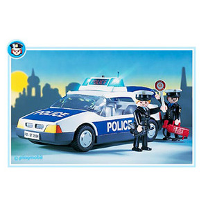 Photo of Playmobil - Police Car 3904 Toy