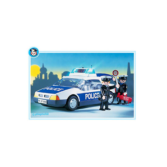 Playmobil - Police Car 3904