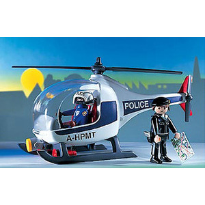 Photo of Playmobil - Police Helicopter 3908 Toy