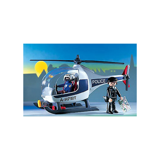 Playmobil - Police Helicopter 3908