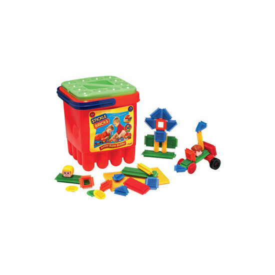 Sticklebricks Junior Super Builder Bucket