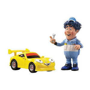 Photo of Roary The Racing Car - Die Cast Drifter and Big Chris Toy