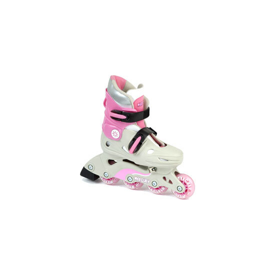 Mercury Adjustable In-Line Skates Pink Size 3-6