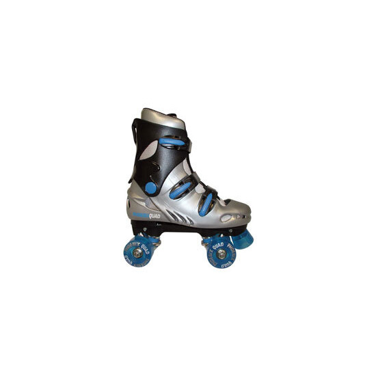 Phoenix Quad Skates - Blue - Size 4