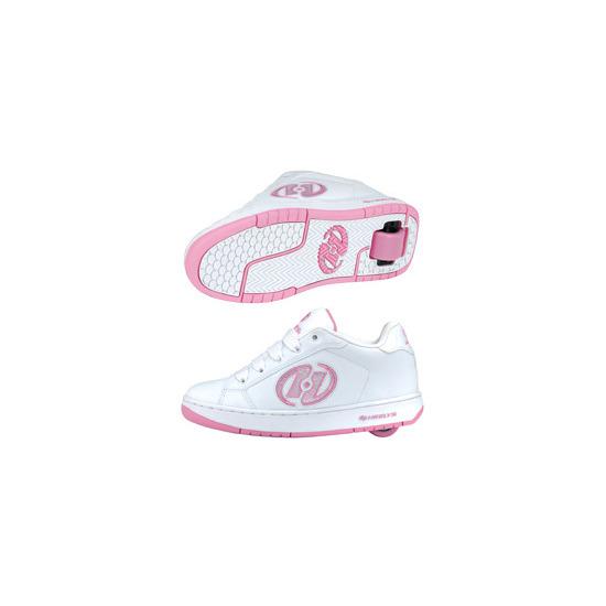 Heelys Glitter White/Pink Size 2