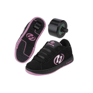 Photo of Heelys Glitter Black/Pink Size 2 Shoes Girl