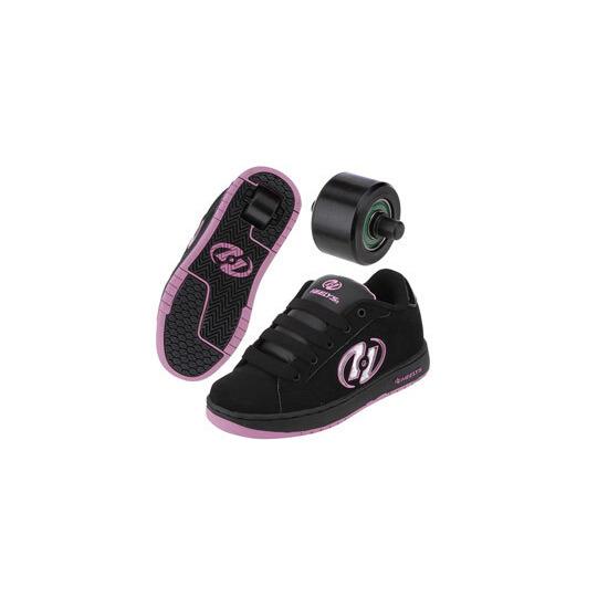 Heelys Glitter Black/Pink Size 2