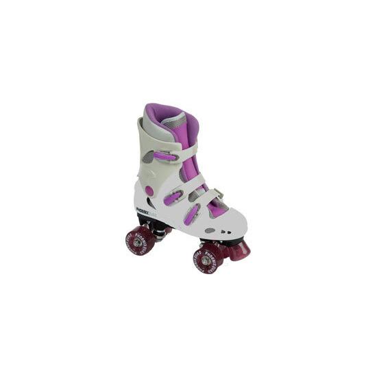 Phoenix Quad Skates - Pink - Size 13 Jnr