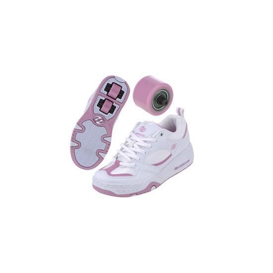 Heelys Fizz White/Pink Size 4