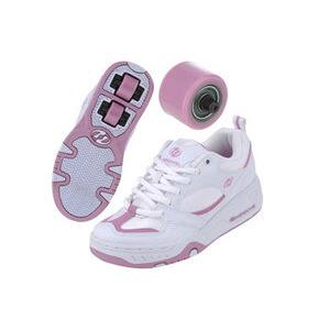 Photo of Heelys Fizz White/Pink Size 12 Junior Shoes Girl