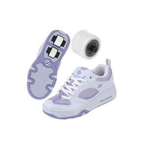 Photo of Heelys Fizz White/Violet Size 2 Shoes Girl