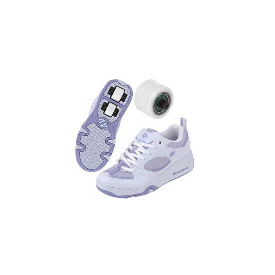 Heelys Fizz White/Violet Size 4