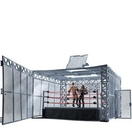 WWE The Cell Cage Match Ring Reviews