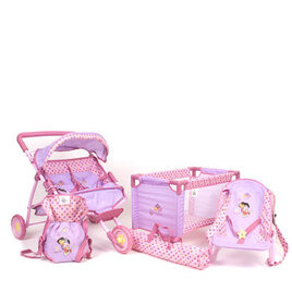 Dora the Explorer 4-in-1 Twin Stroller & Nursery Set Reviews