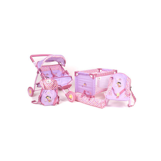 Dora the Explorer 4-in-1 Twin Stroller & Nursery Set