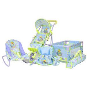 Photo of Fifi and The Flowertots 4-In-1 Twin Stroller & Nursery Set Baby Product