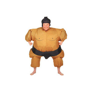 Photo of Airblown Inflatable Sumo Wrestler Costume Accessory