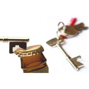 Photo of Key Shaped  Bottle Opener Keyring Gadget