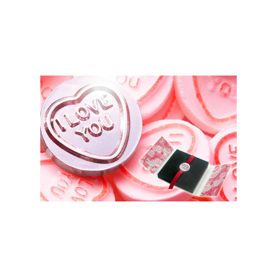 Swizzels Matlow Silver Love Heart