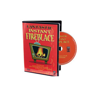 Photo of Fireplace DVD DVDs HD DVDs and Blu Ray Disc