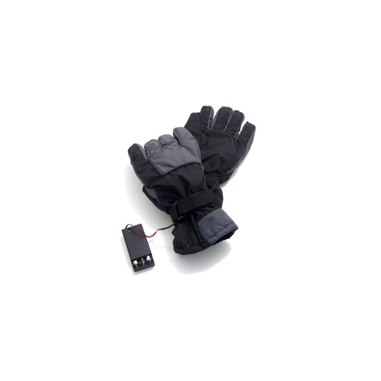 Black Battery Powered Heated Gloves