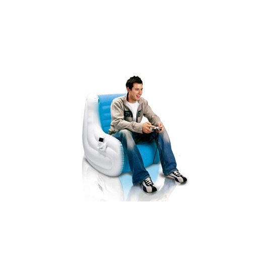 Ozone Inflatable Rocker - With Built In Speakers