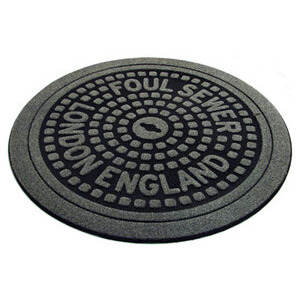 Photo of London Manhole Cover Door Mat Home Miscellaneou