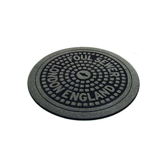 London Manhole Cover Door Mat