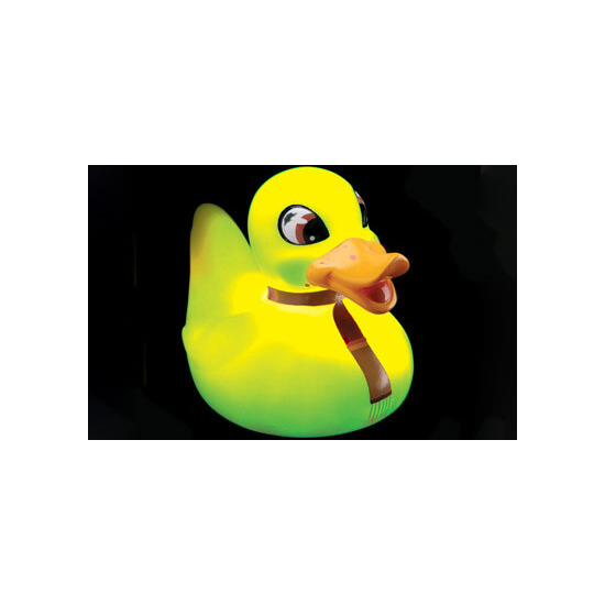 Ducktor Who - The Glow In The Dark Rubber Duck
