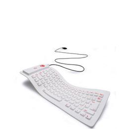 Flexible Keyboard  - white Reviews