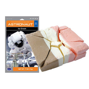 Photo of Space Food - Astronaut Ice Cream (Neapolitan) Gadget