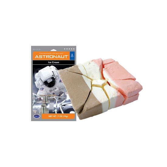 Space Food - Astronaut Ice Cream (Neapolitan)