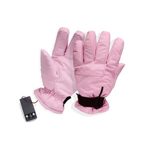 Photo of Battery Powered Heated Gloves - Pink Accessory
