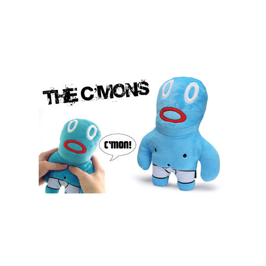 The Corsa C'Mon's! - Blue 10 inch Talking Plush