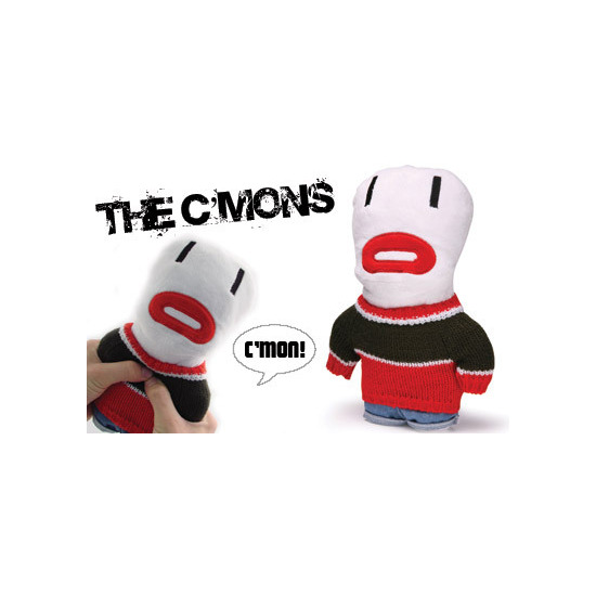 The Corsa C'Mon's! - White 10 inch Talking Plush