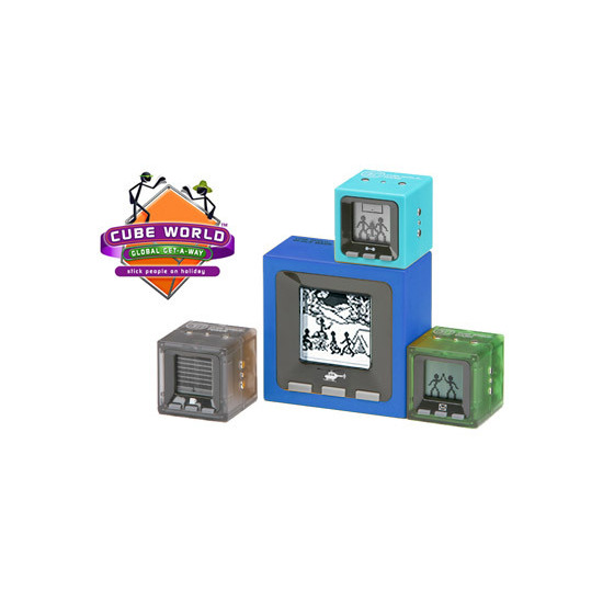 Cube World Places - Global Get-a-way